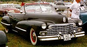 Cadillac Series 62 convertible 2nd gen – 1942