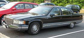 Cadillac Fleetwood 2nd gen – 1993