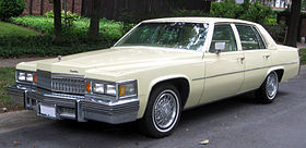 Cadillac Sedan de Ville series 5th gen – 1977