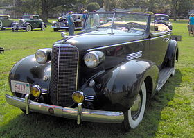 Cadillac Series 70 convertible – 1936