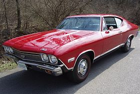 Chevrolet Chevelle SS396 hardtop coupe – 1968