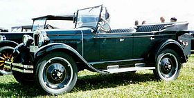Chevrolet Series AA Capitol – 1927