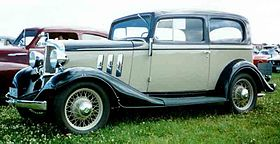 Chevrolet Eagle Series CA – 1933