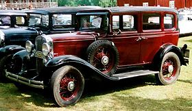Chevrolet Series AE Independence – 1931