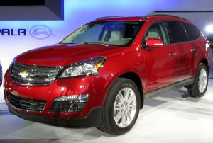 Chevrolet Traverse 2013 facelift