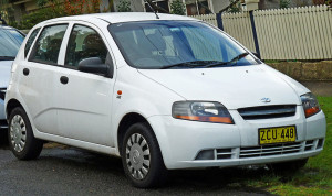 Daewoo Kalos 5-door hatchback T200 – 2003