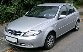 Daewoo Lacetti grey model - 2002 4