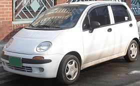 Chevrolet Spark M100 – 1998