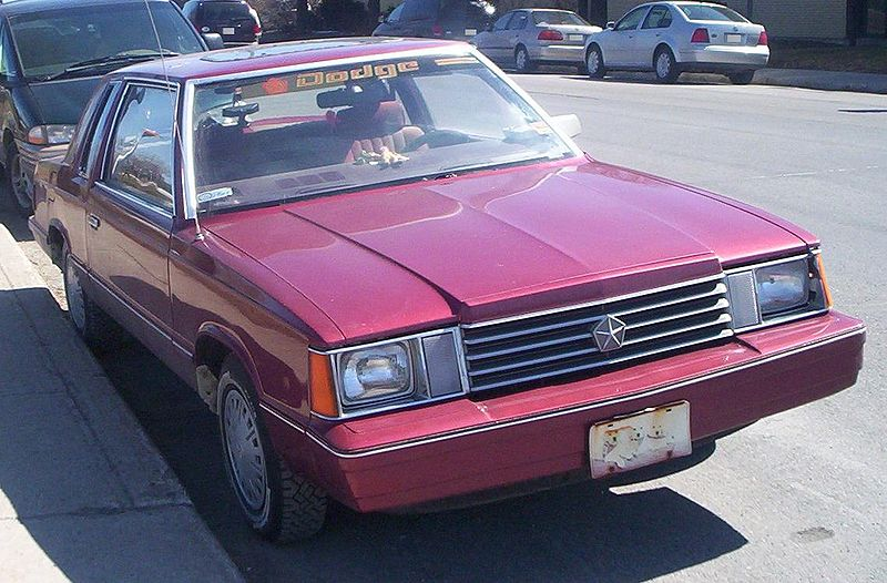 Dodge Aries coupe - 1982 1
