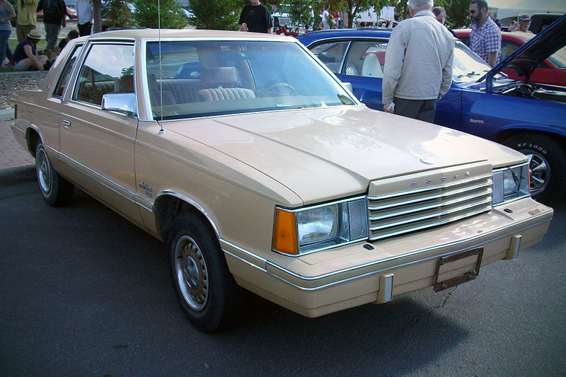 Dodge Aries coupe - 1981 7