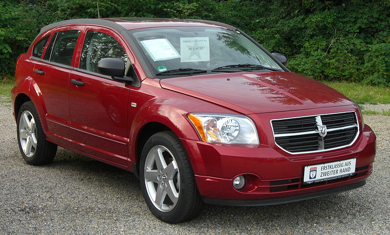 Dodge Caliber SXT red model 2