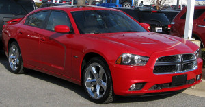 Dodge Charger red model – 2011