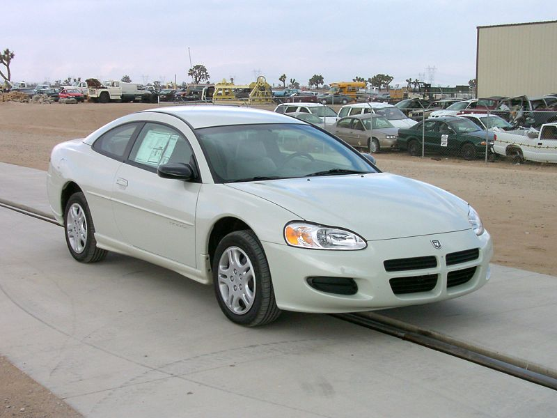 Dodge Stratus SE coupe - 2001 6