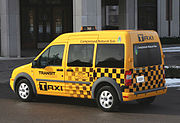 Taxi model - Yellow & black 2