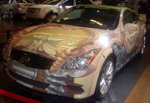 Infiniti G37 Coupe in Anniversary Art value – 2009