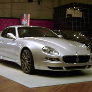 Maserati GranSport coupe grey model