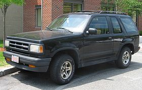 Mazda Navajo black model – 1991