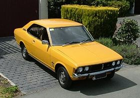 Mitsubishi Galant yellow model – 1969