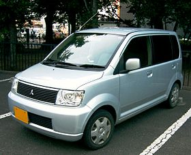 Mitsubishi eK wagon model – 2001