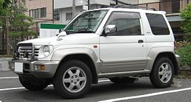 Mitsubishi Pajero Junior model – 1995