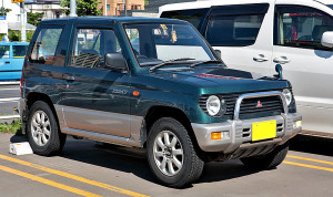 Mitsubishi Pajero Mini green – 1994
