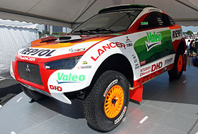Mitsubishi Racing Lancer model – 2008