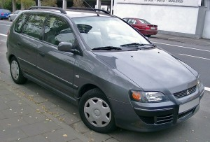 Mitsubishi Space Star facelift – 2002