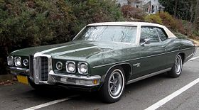 Pontiac Catalina green model – 1970