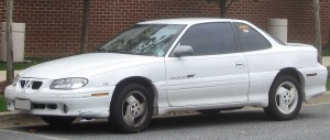 Pontiac Grand Am GT coupe – 1996