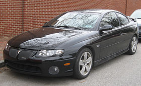Pontiac GTO black model - 2004 5