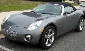 Pontiac Solsctice sports car – 2005