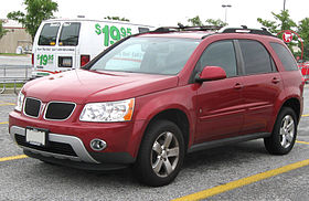 Pontiac Torrent red model – 2005