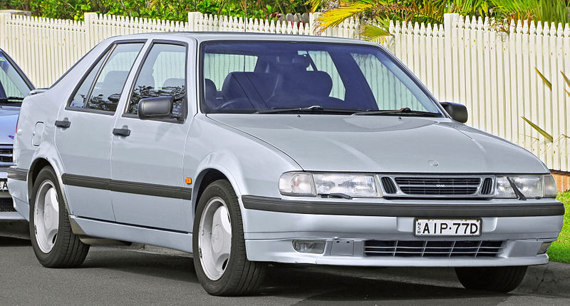 Saab 9000 CS Aero facelift