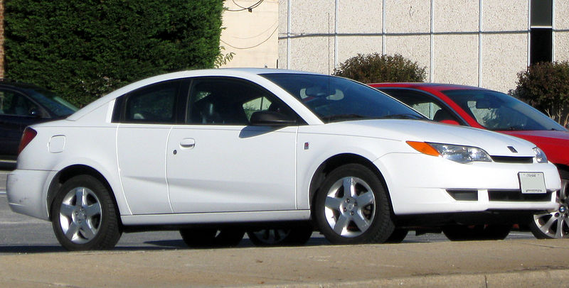 Saturn Ion coupe model – 2003