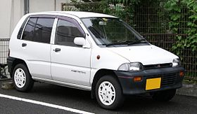 Mitsubishi Minica 6th gen model