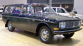Volvo 145 green 5-door – 1968