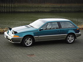 Volvo 480 3-door hatchback – 1986