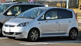 Mitsubishi Colt grey model