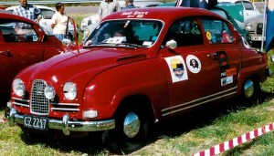 Saab 96 sport modified version car
