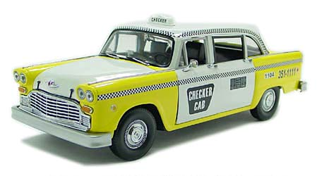 Checker cab taxi model 7
