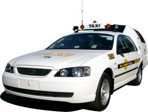 Taxicab white model