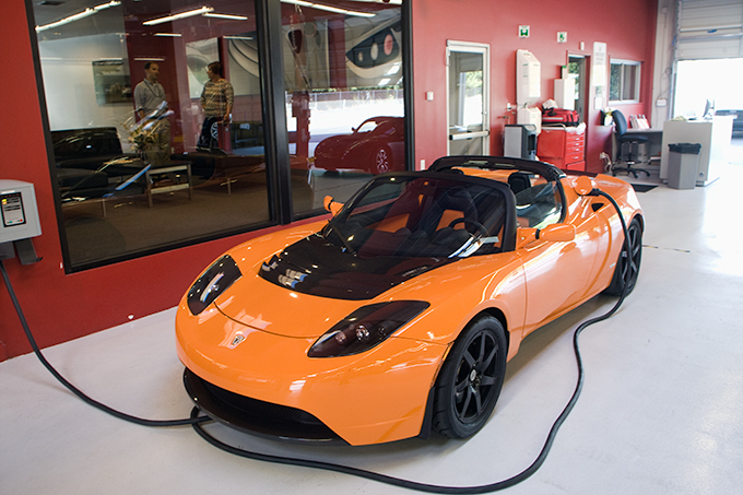 Tesla Roadster Sports car