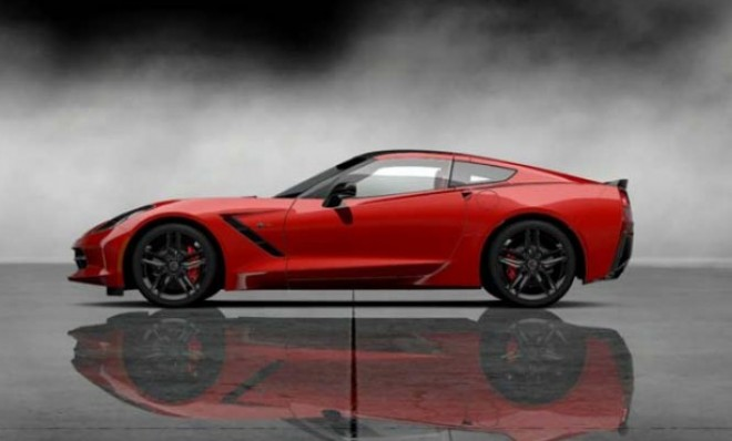 The new Corvette Stingray