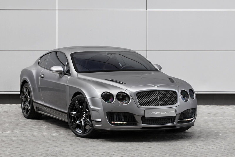 TopCar Bentley Continental GT Bullet Grey 1  1