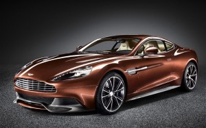 The Vanquish uses Aston Martin's 6.0-litre V12 petrol engine