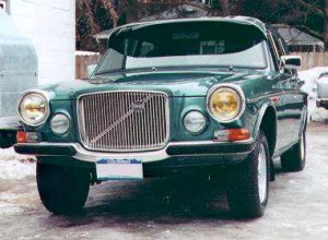 Volvo 164F with exterior sunvisor