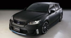 Lexus CT 200h with New Styling Package