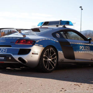 2011 Essen  Tune it! Safe! ABT Audi R8 GTR Police car