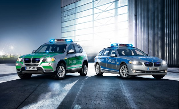 BMW's Latest Array of Police and Bombproof Vehicles  17