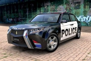 the average police cruiser